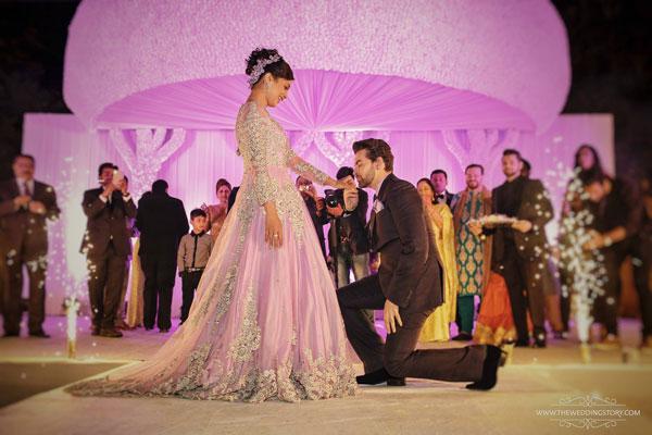 neil proposes to rukmini at the wedding