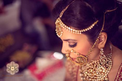 Bridal nose ring ideas | Indian Bridal Jewellery- Nath | Indian brides | naths | instagram |stunning brides | Indian wedding inspiration | by wittyvows | Picture Art Company