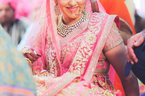 Bridal nose ring ideas |Indian Bridal Jewellery- Nath | Indian brides | naths | instagram |stunning brides | Indian wedding inspiration | by wittyvows | the Cheesecake Project