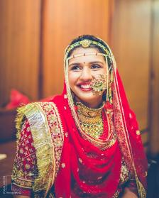 IBridal nose ring ideas | ndian Bridal Jewellery- Nath | Indian brides | naths | instagram |stunning brides | Indian wedding inspiration | by wittyvows | Pooja joseph Photography