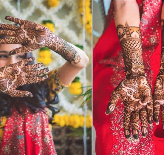 bridal mehndi design | Mehndi idea | Henna designs | Henna story with couple's love story | Miss style Fiesta Mehndi | things you love | bag | diamond | planes