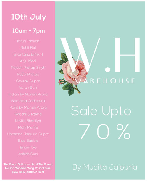 Designer outfits on sale | warehouse exhibition in Delhi | 70% Sale on designer wear like manisha arora, Tarun tahiliani, Rohit gal , anju modi