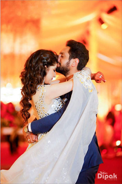 Fun Punjabi wedding ideas | Raagini and Gurtej - pretty wedding story | The much in love couple #GuRag.