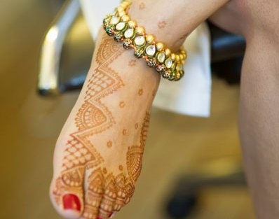 Pretty kundan anklet for your wedding | Trending Indian anklet ideas - Bridal Payal designs