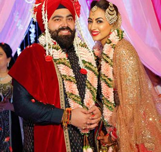 Bavleen and Kushal | Destination wedding in Goa | The couple smiling together on theri wedding day.