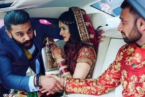 Brother of the bride duties | being the bride off at her vidai
