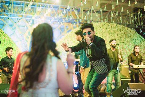 Jaya and Anish   Roka ceremony   Flower decor   People having a gala time amidst celebrity singers.