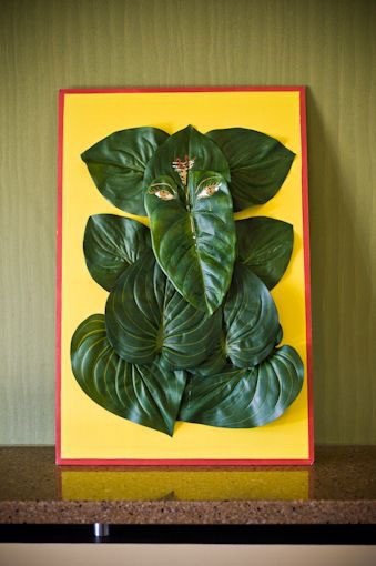 Ganesh ji made with leaves | pooja decor ideas| Ganesh Chaturthi ideas | amazing Ganesh idols