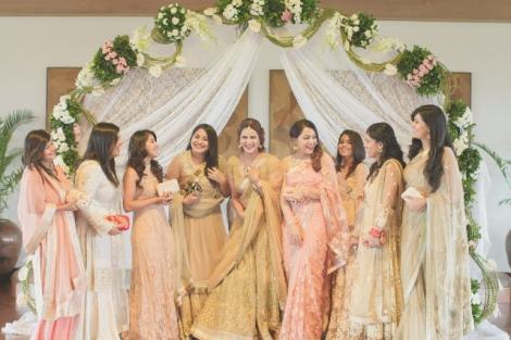 Fashion blogger Guiltybytes' photo shoot| Create memories with your BFF– Bridesmaids photoshoot Ideas WE LOVED!