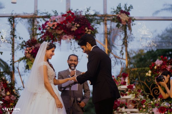 Christian ceremony in morning | #CHAYSAM wedding - A Movie worthy celebration of love – that WE LOVED!