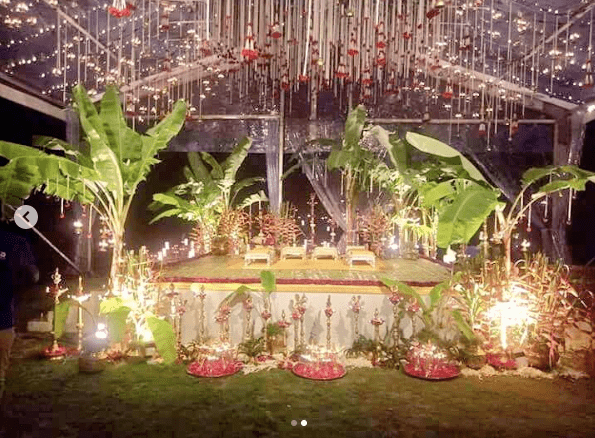 Hindu wedding decor | #CHAYSAM wedding - A Movie worthy celebration of love – that WE LOVED!