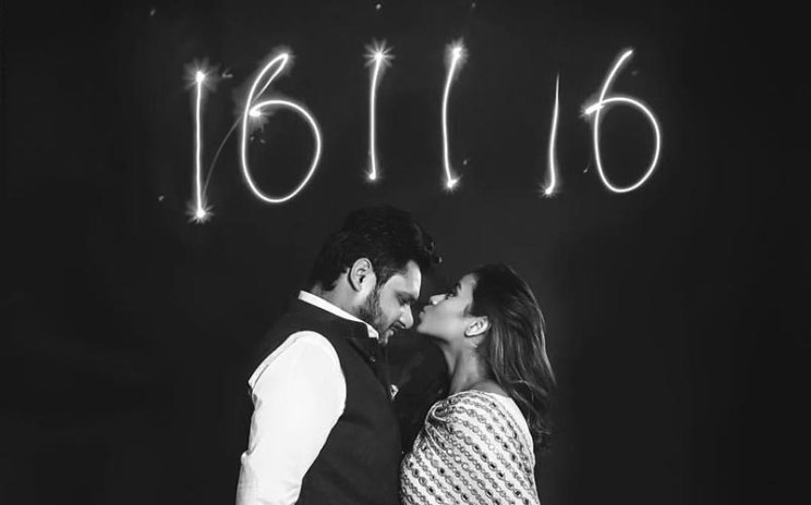 again and Shagun | hill station wedding in Kasauli with haldi ceremony ideas | pre wedding shoot and save the date with sparklers
