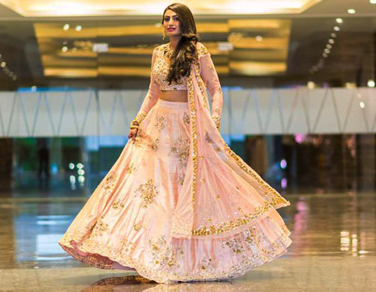 Bride twirling in Astha narang lehenga | Bride with a budget - Affordable yet STUNNING bridal wear designers!