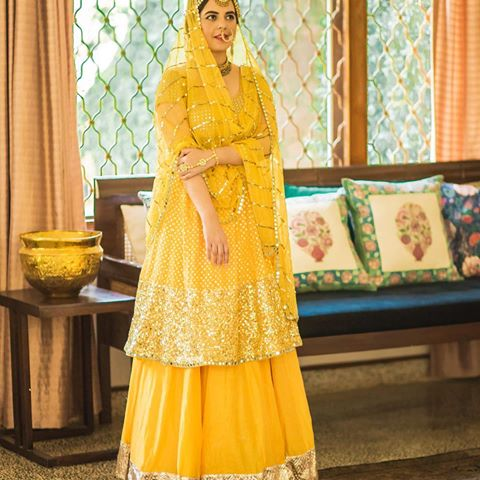 Yellow abhinav mishra bride | Bride with a budget - Affordable yet STUNNING bridal wear designers!