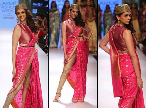 Aditi hydari in saree | Trending (since forever) & how: Different Ways to use those old school Benarasi clothes