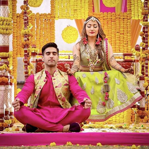 Meditating with bae | Real Brides REVEAL - Indian Wedding Planning Mistakes