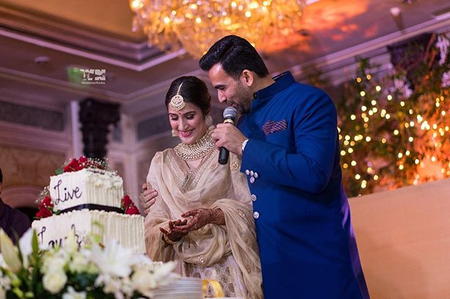 Grand reception | #CelebrityWedding – Trends to steal from Zaheer Khan & Sagarika's wedding that's unreal!