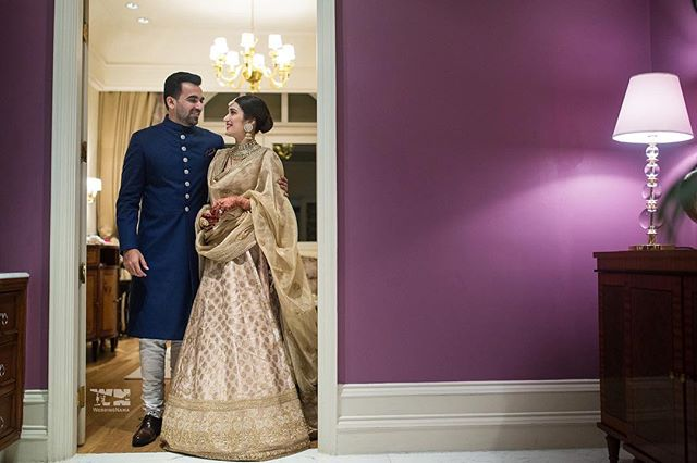Zaheer & Sagarika reception | #CelebrityWedding – Trends to steal from Zaheer Khan & Sagarika's wedding that's unreal!