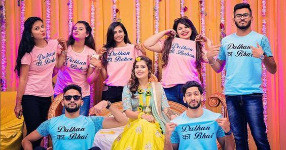 Bride with her squad   Real Brides REVEAL - Indian Wedding Planning Mistakes