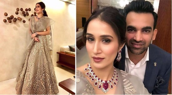 At an after party | #CelebrityWedding – Trends to steal from Zaheer Khan & Sagarika's wedding that's unreal!
