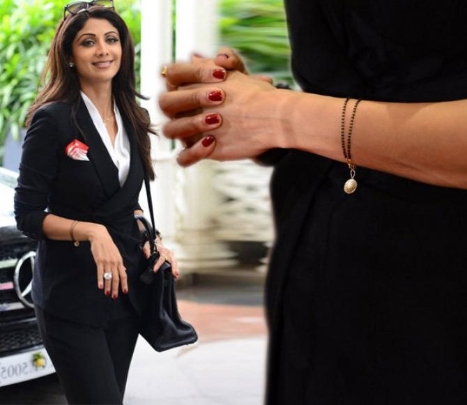 Shilpa shetty & her mangalsutra | #2018 Wedding Trends in Making – 5 Different styles of flaunting that wedding accessory!