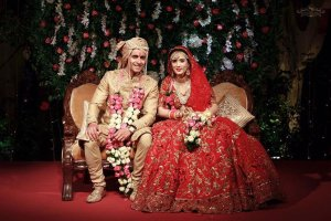 Couple at wedding | #CelebrityWedding - Gautam & Pankhuri's FORT-ful wedding in Alwar!