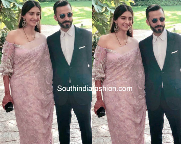 Sonam kapoor post wedding look