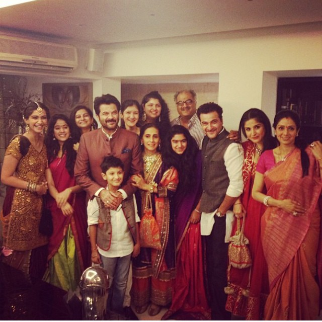 The Kapoor clan together