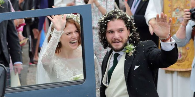 GOT wedding Kit and rose | Jon snow and Ygritte get married
