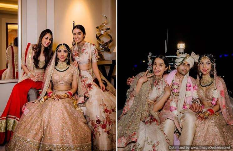 Shraddha at her bff's wedding
