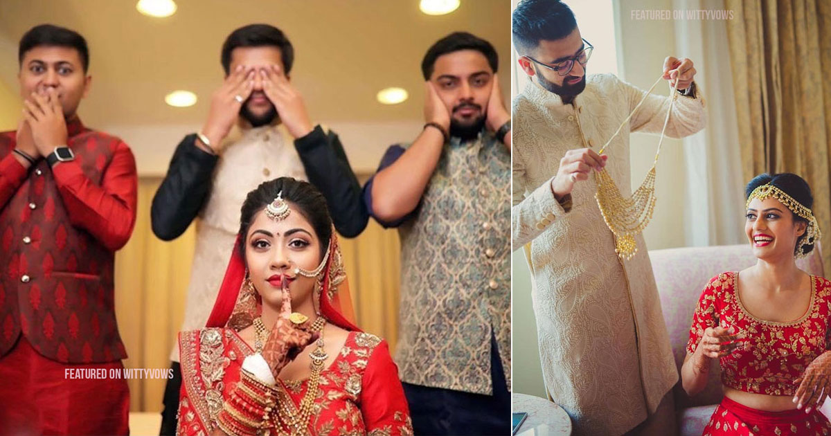 Indian bride with her brothers   Poses for the brother of the bride photos for your wedding   Indian wedding trends 2018