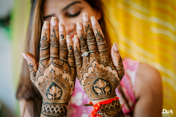 Mehendi on teej | #JustMaaruThings - New TEEJ trends make it the new MINI MEHENDI