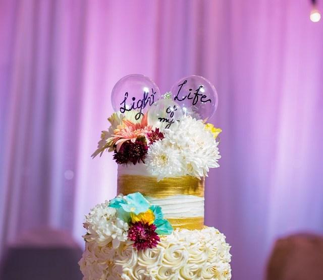 Harsh & Dhwani | Personal details | personalized cake | Mumbai Engagement | Bulb theme Cake | Engagement ideas |