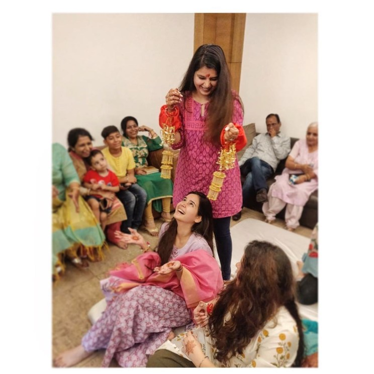 Sister of the bride   Indian bridesmaids   Shiv Shakti Sachdev   Indian weddings   Maid of Honour   Indian wedding Photography   Photos every bridesmaid needs   Candid pictures   Kaleere shots  