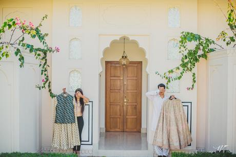 Abheshek & Smily - A Chandigarh Wedding full of fun photo | couple shoot ideas | cute couple poses for indian weddings