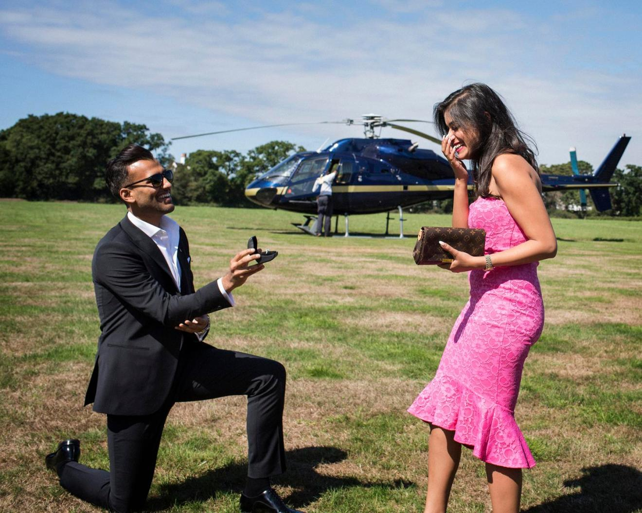 Rimal & Shivali   Dreamy Proposal ideas   Indian couples   Big gestures   Pre Wedding photo shoot ideas  
