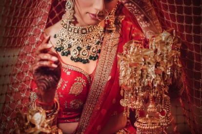 Bridal Dupatta | Dupatta ideas | Bridal Photo Shoot ideas | Ghoonghat shots | Indian Wedding Photography | Poses for brides | Types of Ghoonghat |