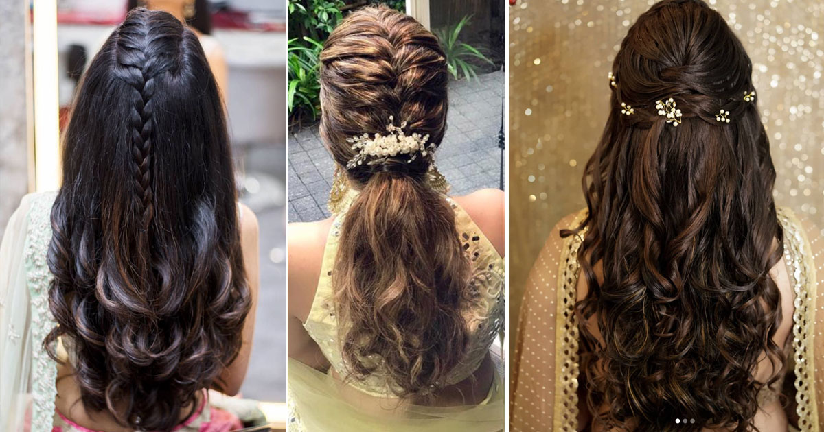 Diwali Look Idea - DIY hairstyles for Indian Hair to Nail the 2018 Trends