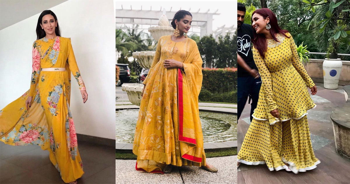Celebrity outfit ideas for Diwali