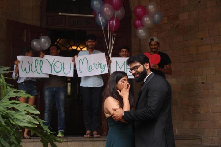 Farha and Zubair   Pre wedding photo shoot   Will you marry me?   Romantic couple shoot   DIY ideas   Balloons and Handwritten notes   Surprise proposals  