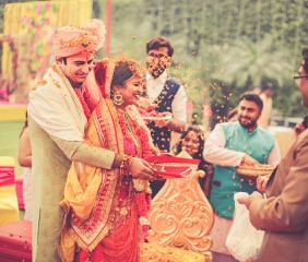 Tanushree and Abhineet | Real Indian Weddings | Featured on WittyVows | Candid moments | Indian wedding photography |