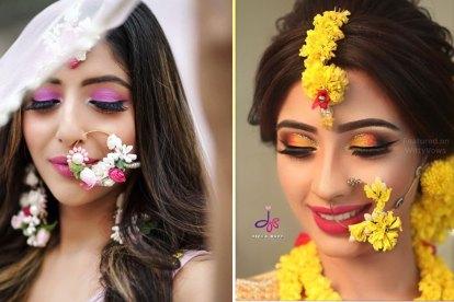 floral Nath ideas   2019 bridal trends