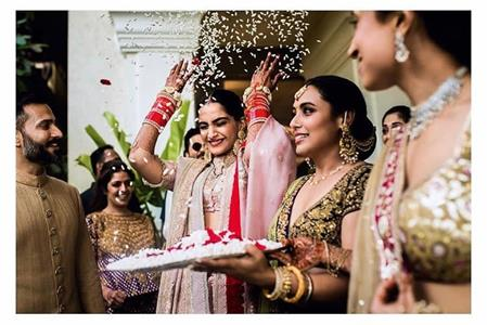 Sonam Kapoor and Anand Ahuja   Rani Mukherjee   Bidaai   Celebrity Weddings  