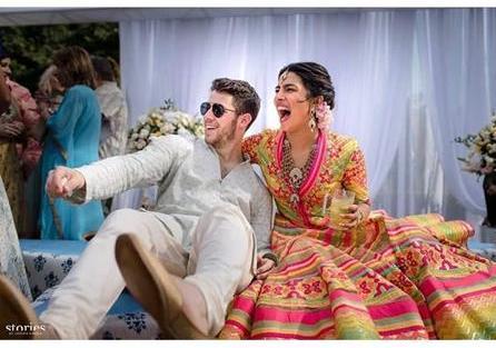 Priyanka Chopra and Nick Jonas Wedding | Abu Jani Sandeep Khosla | Stories by Joseph Radhik | Mehndi outfit |
