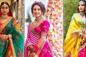 Second dupatta ideas for indian brides