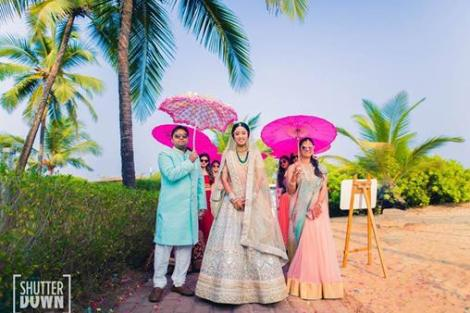 Trending New ideas for Phoolon ki Chadar | Different types of Phoolon ki Chadar | Bridal entry | Bridal swag | Colorful Umbrellas with flower hangings