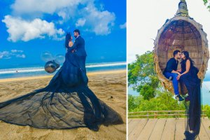 Destination Pre Wedding Shoot in Bali | Style by Yuga