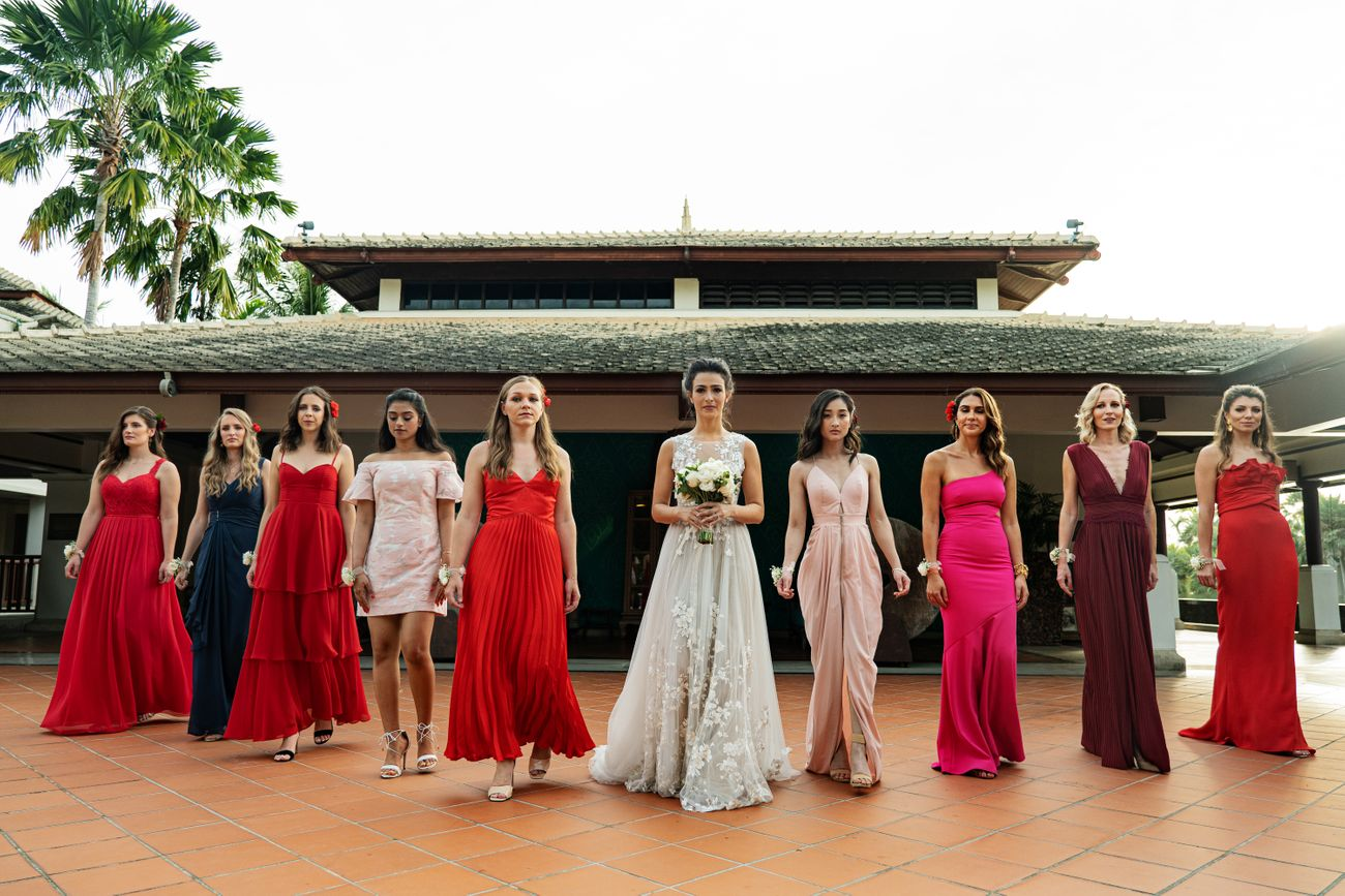 Prianka & Rico | White Wedding | French and Indian | Wedding Vows | candid wedding Photography | destination weddings in Phuket | Thailand | Beach Weddings | Altair | Wedding with a view | love | Must see | real Weddings | Bridesmaids