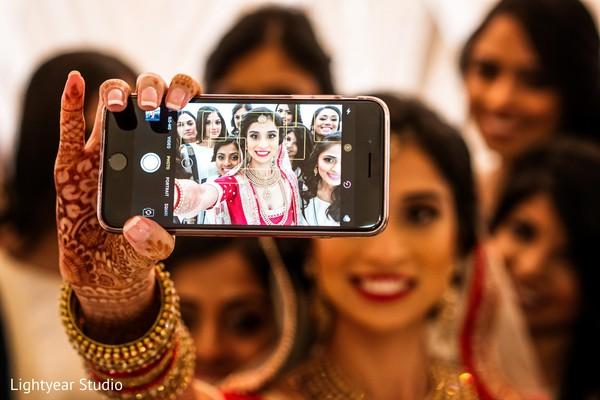 Bride taking a selfie | trending photos | Love