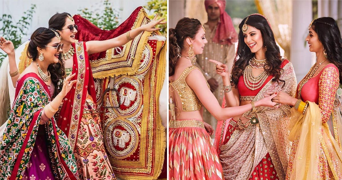 Outfits for indian bridesmaids | colourful Indian attire